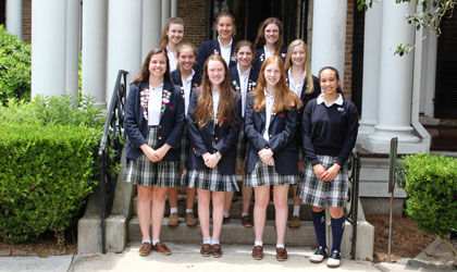 Ten ASH students earn top scores at State Literary Rally