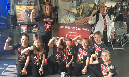 ASH named grand champions of National WWII Museum Robotics Challenge