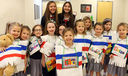 Kindergarten visits South America with Chilean exchange students