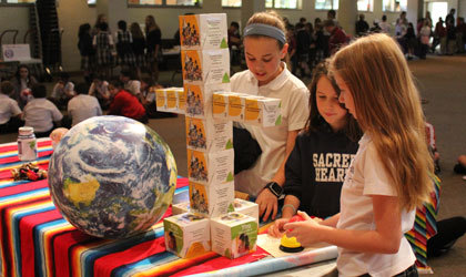 Sacred Hearts hosts Lenten Missionary Assembly