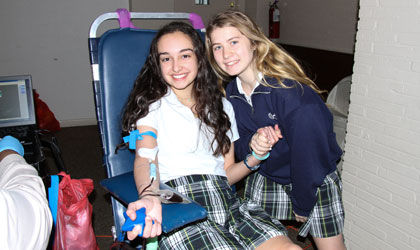 Sacred Heart holds 8th annual Shelby Leonhard Memorial Blood Drive