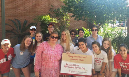 Clarion Herald: Academy of the Sacred Heart has Global Service Day
