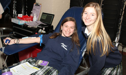 Sacred Heart holds ninth annual Shelby Leonhard Memorial Blood Drive