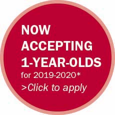 now accepting 1 year olds for 2019-2020