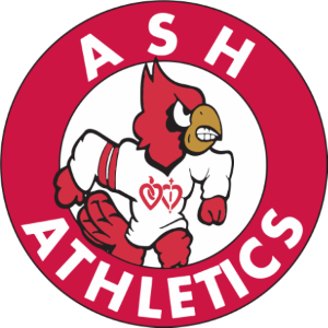 ASH Athletics cardinal logo