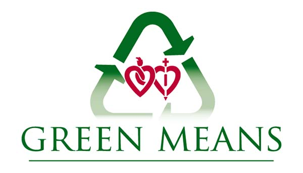 Green means logo