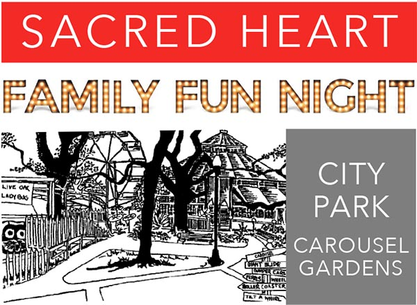 city park family fun night logo image