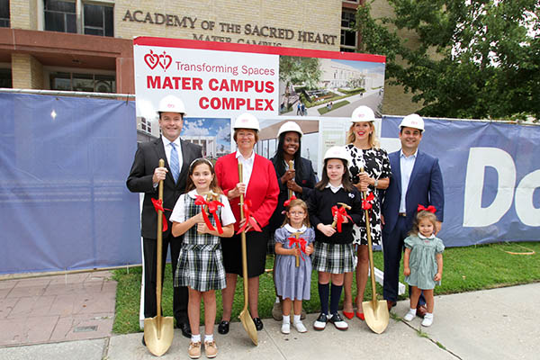 Mater campus groundbreaking photo
