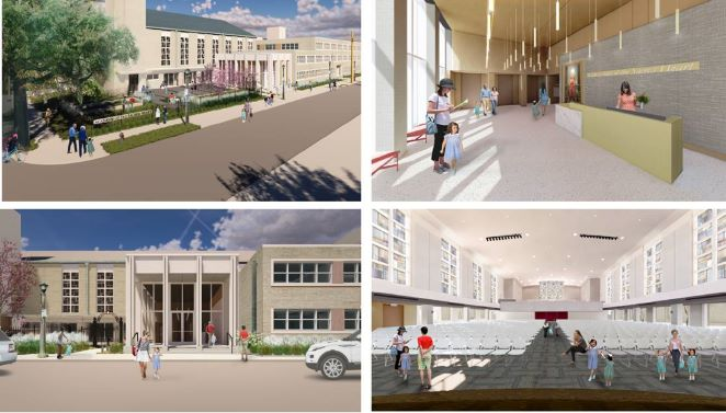 Mater campus complex renderings collage image