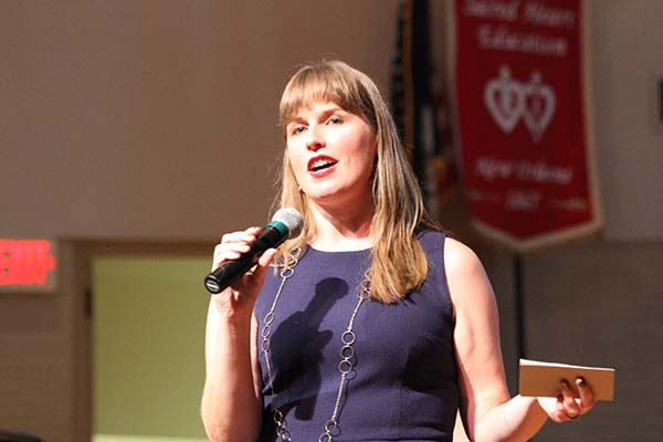 author marissa meyer at sacred heart