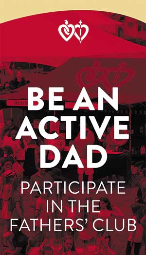 Fathers' Club active dad banner